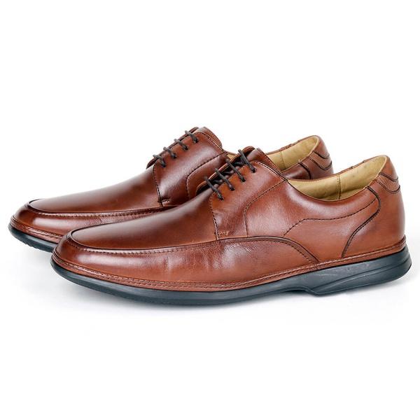 Sapato Massage em Couro Bronze Savelli