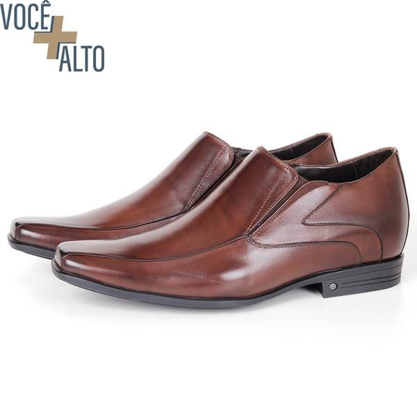 Sapato Up de Calçar em couro Café Savelli