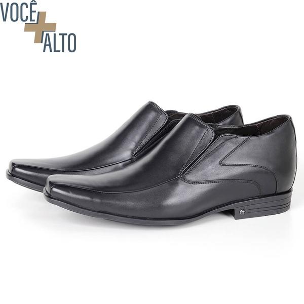 Sapato Up de Calçar em couro Preto Savelli