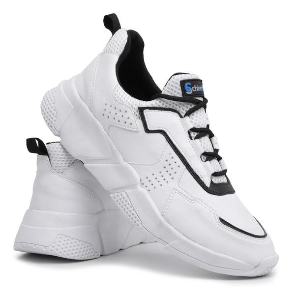 Tênis Masculino Academia e Caminhada 530 Branco/Branco