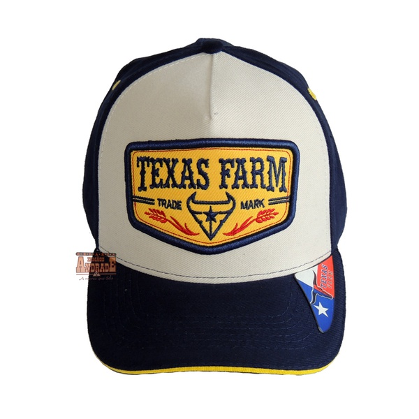 Boné Country Texas Farm Trade Mark
