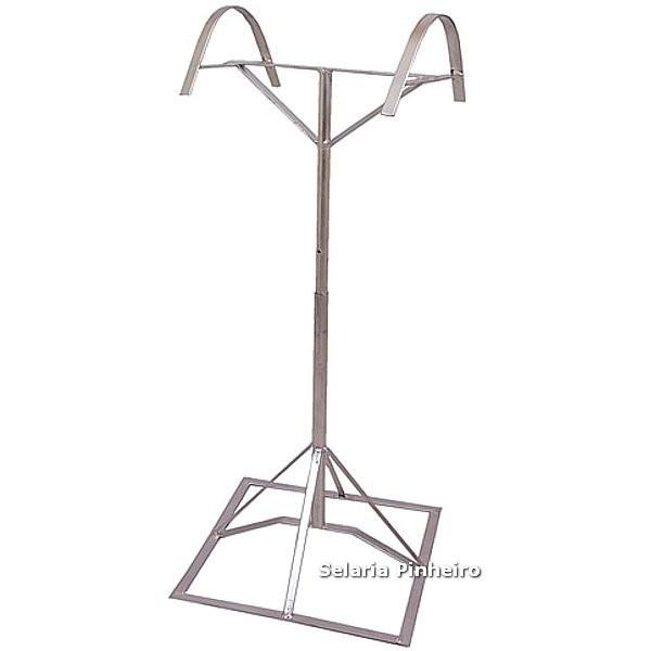 Suporte de Pedestal para Selas (com regulagem de altura)