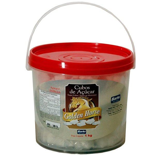 Cubos de Açúcar Golden Horse