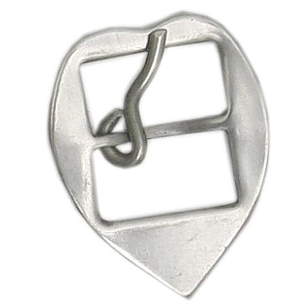 Fivela Coração para Cabeçada 16 mm Inox