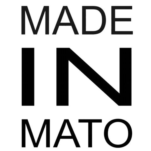 Adesivo Made In Mato (Preto)