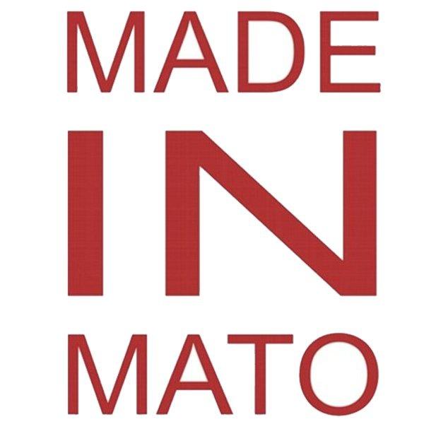 Adesivo Made In Mato (Vermelho)