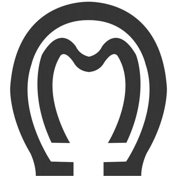 Adesivo Mangalarga M01 (Preto)