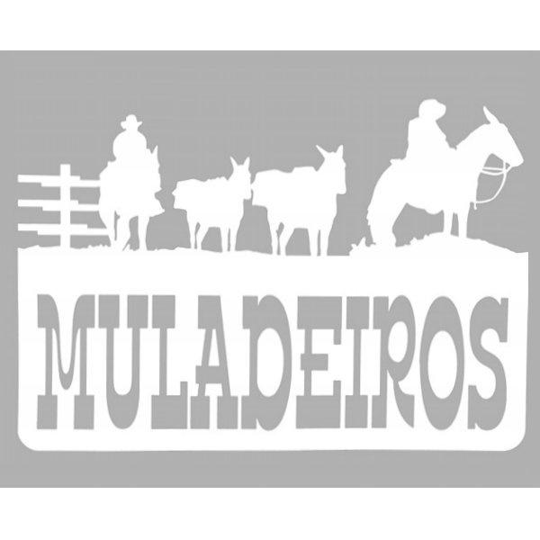 Adesivo Muladeiros M01 (Branco)