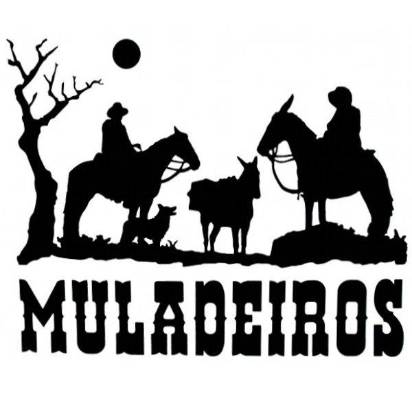 Adesivo Muladeiros M03 (Preto)