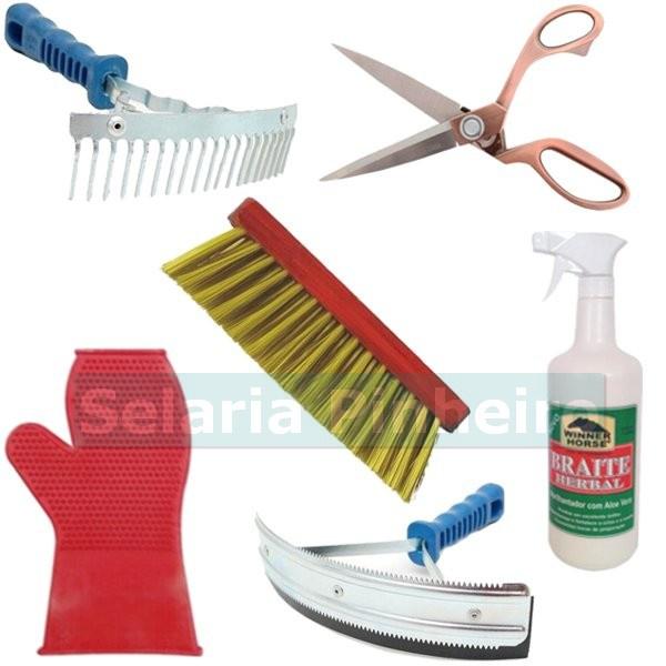 Kit para Higiene e Limpeza (6 itens)