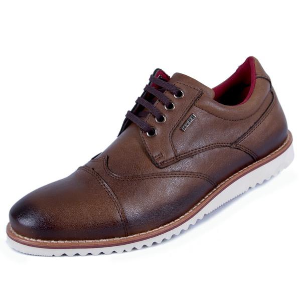 Sapato Oxford Masculino Café