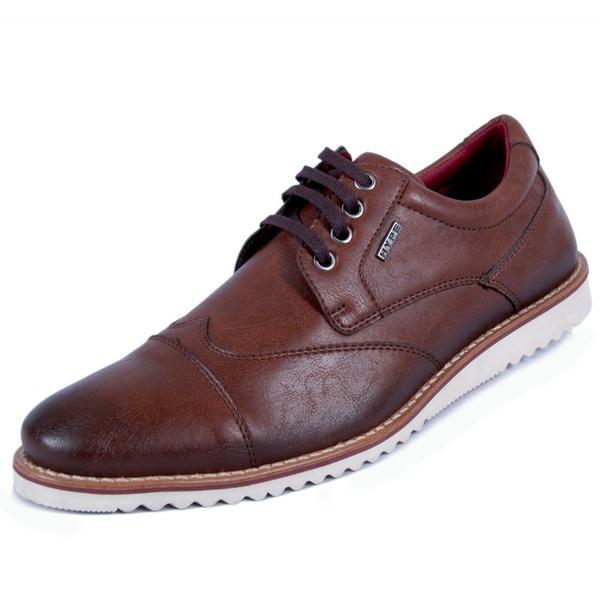Sapato Oxford Masculino Whisky