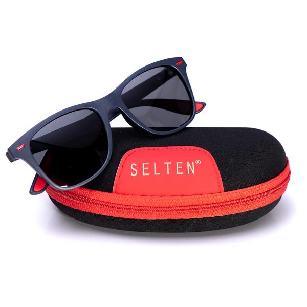 Óculos De Sol Masculino Wayfarer Selten