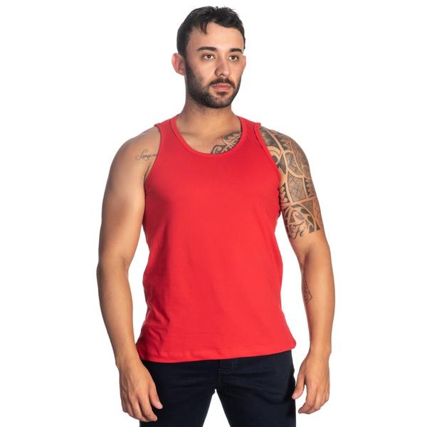 Regata Masculina Vermelha -Selten