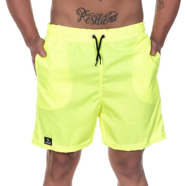 Short Masculino Tactel Verde Neon - Selten