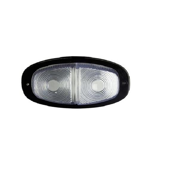 Lanterna Traz Parachoque ( Canoinha ) Cristal