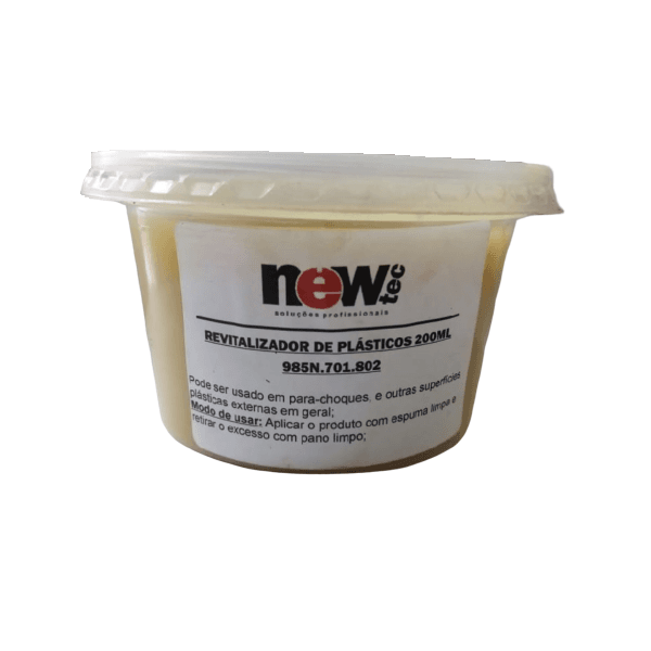 Pasta Carnaúba Revitalizador de Plásticos 200g