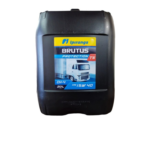 Óleo Motor Diesel 15w40 Ipiranga Brutus T5 CH4 - Balde 20 Litros