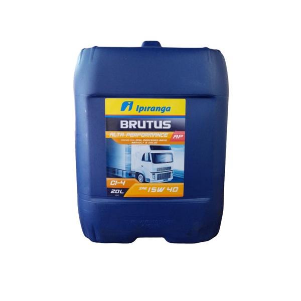 Óleo Motor Diesel 15w40 Ipiranga Brutus CI4 Alta Performance - Balde 20 Litros