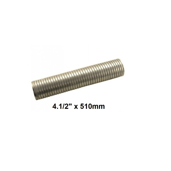 "Tubo Flexível Escapamento 4.1/2"" x 510mm Mercedes Benz LS1632, 1634, 1938S, 2638"