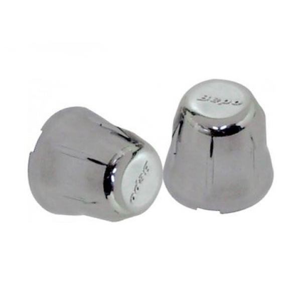 Capa para Porca de Roda Plástica 32mm Bepo Cromada Redonda