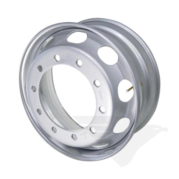 Roda de Aço Disco para Caminhão - Aro 22,5 x 8,25 Pneu 295 Sem Câmara - 10 Furos