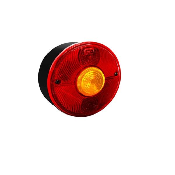Lanterna Traseira Redonda 113 C/ Vigia