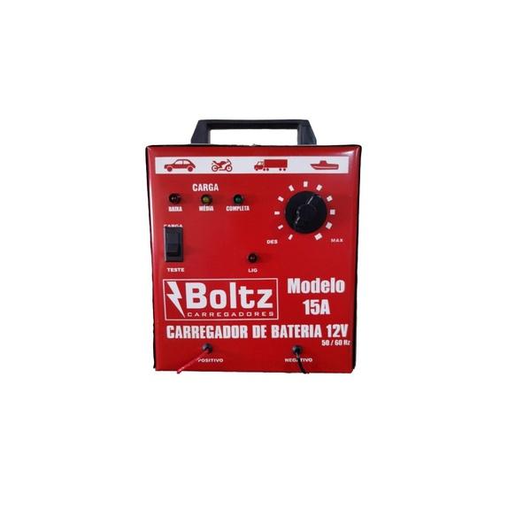 Carregador de Bateria 15AH Amperes 12v Bivolt