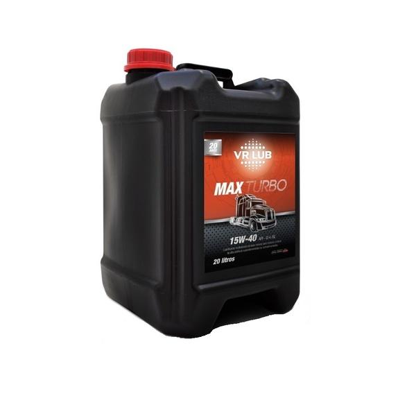 Óleo Motor Diesel 15W40 VR Lub MAX Turbo - Balde 20 Litros