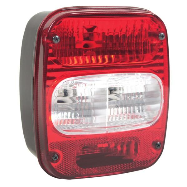 Lanterna Traseira Ford Cargo/ VW 2012/ Bicolor C/Vigia