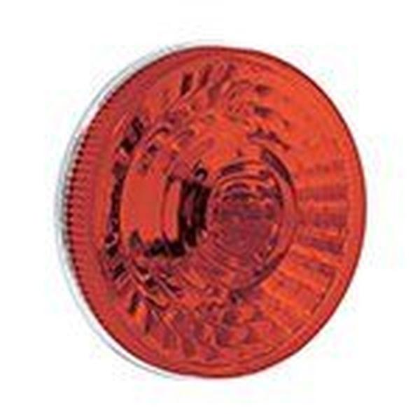 Lanterna Traseira Individual Carreta/Onibus Vermelho 125mm