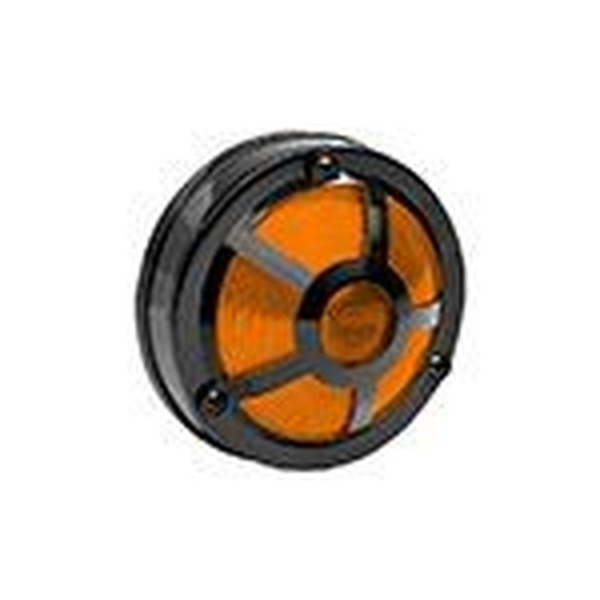 Lanterna Lateral Carreta 5 Vigias Plastico Amarelo