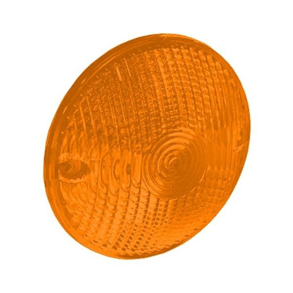 Lente Lanterna Traseira Foguinho Amarela