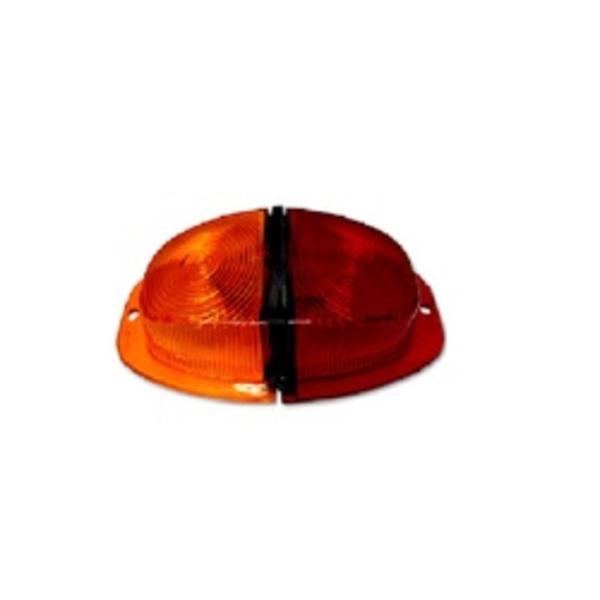 Lente Lanterna Traseira Parachoque ( Canoinha) BI