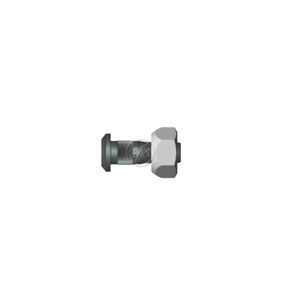 Conjunto Parafuso Roda Diante Esquer C/Porca Chevrolet D60
