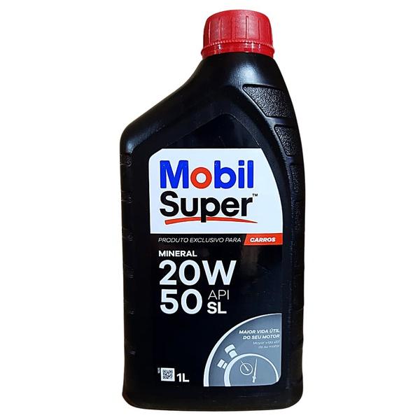Óleo Motor 20W50 Mobil Super 1000 API SL