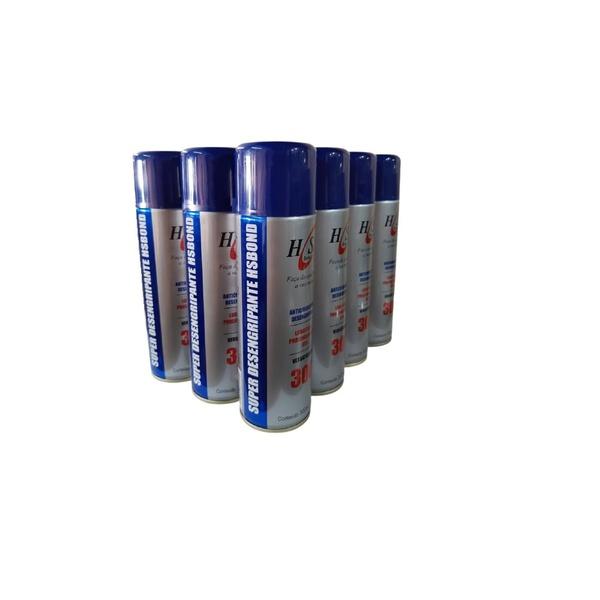 Caixa C/ 12 Desengripante Micro Óleo Anticorrosivo Spray HS Bond