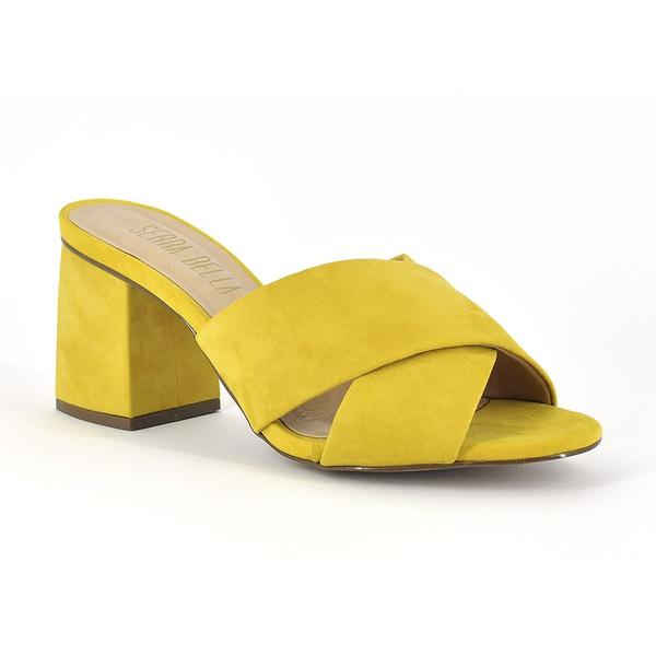 Mule Nobuck Amarelo