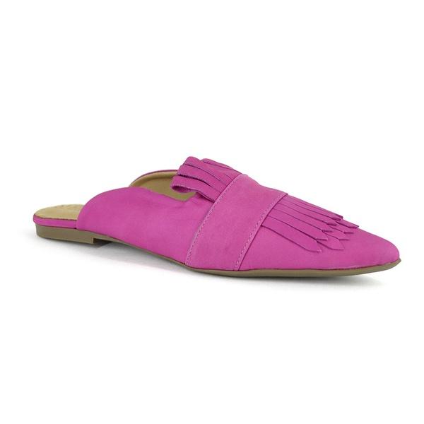 Mule Nobuck Pink