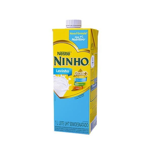 Leite Ninho Levinho Semi Desnatado - 1l