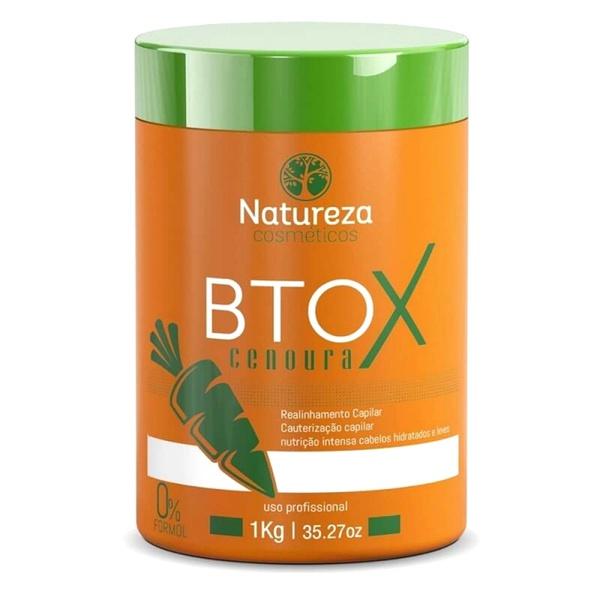 Natureza Cosméticos Btox de Cenoura Sem Formol - 1kg