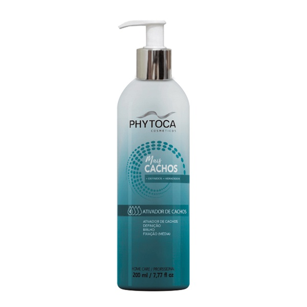 Phytoca Mais Cachos Ativador de Cachos Leave-in - 200ml