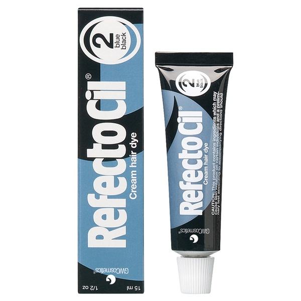 RefectoCil Tinta Para Sobrancelha Preto Azulado Nº 2 - 15ml