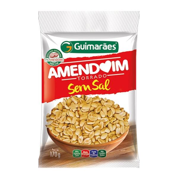 Amendoim Torrado sem Pele e Sal 170g