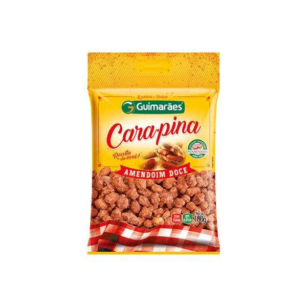 Amendoim Carapina Pralinê 100g