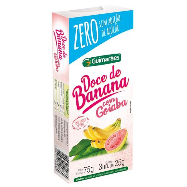 Doce de Banana C/Goiaba ZERO 75g