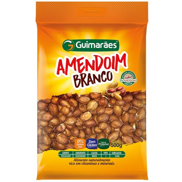 Amendoim Branco Descascado 500g
