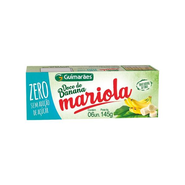 Mariola de Banana ZERO Açucar 145g