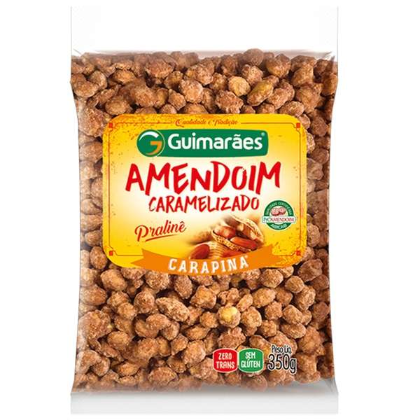 Amendoim Carapina 350g