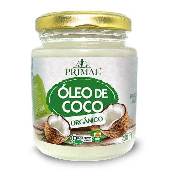 Óleo de Coco Orgânico Extra Virgem 200ml
